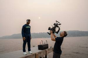 18 HOURS IN SEATTLE… RUSSELL WILSON, KURT WARNER AND WILDFIRES!